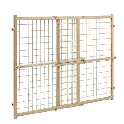 Evenflo-Position-and-Lock-Tall-Pressure-Mount-Wood-Gate-0