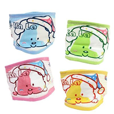 Fairy-Baby-4-PCS-Cotton-Baby-Umbilical-Cord-Thin-Cartoon-BellybandFit-Waist-151-177-0