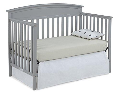 Graco Benton Convertible Crib Pebble Gray Baby Cribbed