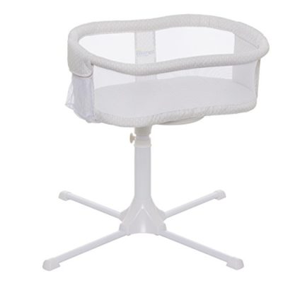 HALO-Bassinest-Swivel-Sleeper-Bassinet-Essentia-Series-Honeycomb-0