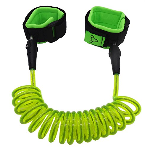 Hitrover Wrist Leash For Child/Kid/Toddler| Safety Harness/Strap/Link/Tether for walking Kids| Green