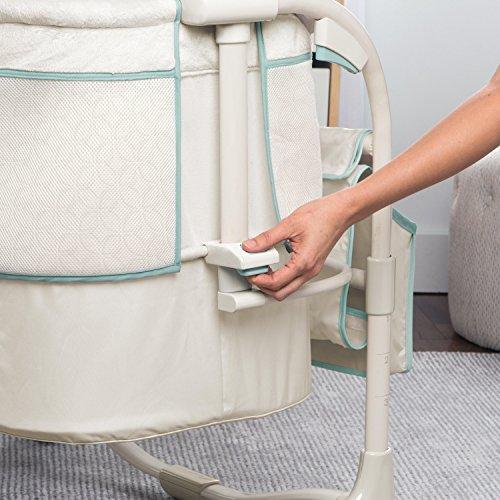 Miclassic Bedside Crib Travel Bassinet Easy Folding