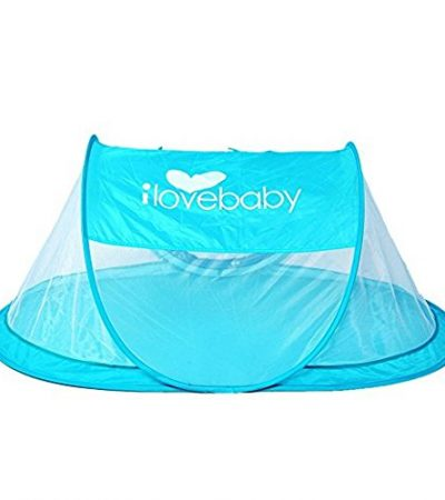Instant Portable Travel Baby Tent, Beach Tent for Babies, Blue