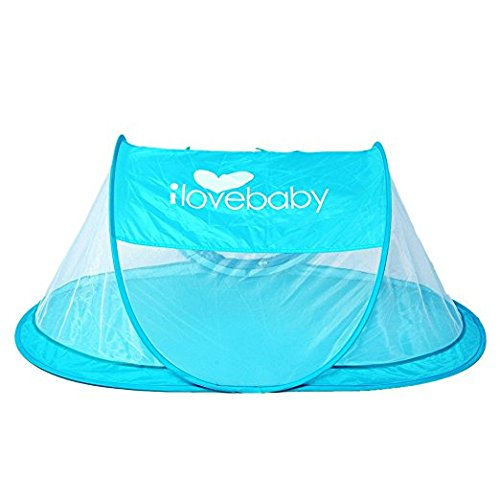 Instant Portable Travel Baby Tent Beach ...  sc 1 st  Baby Cribbed & Instant Portable Travel Baby Tent Beach Tent for Babies Blue ...