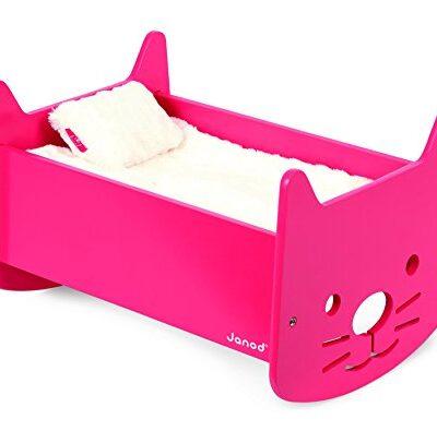 Janod-Babycat-Pink-Cradle-0