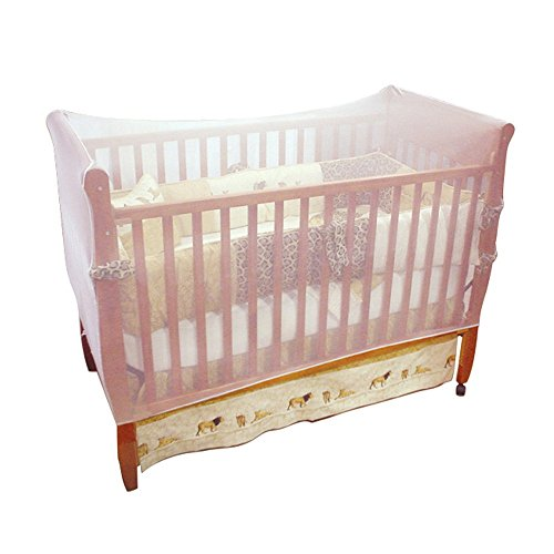 Jeep Baby Crib ...  sc 1 st  Baby Cribbed & Jeep Baby Crib Netting Universal Size White Baby Bed Mosquito ...