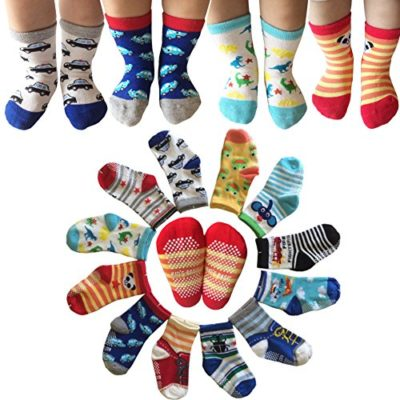 Kakalu-Assorted-Non-Skid-Ankle-Cotton-Socks-with-Grip-for-12-36-Months-Baby-Cartoon-2-6-Pairs-0