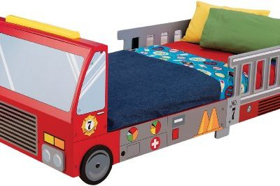 KidKraft-Fire-Truck-Toddler-Bed-0