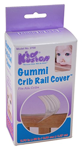 Kidkusion Gummi Crib Rail