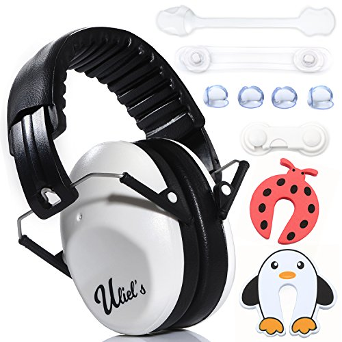 b474930f0e2 Kids Ear Muffs Hearing Protection W/BONUS childproofing Kit- Child Noise  Cancelling Headphones,