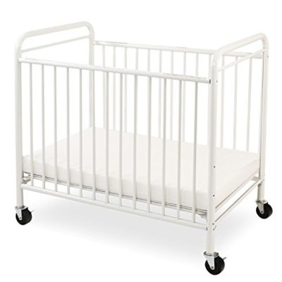 LA-Baby-The-Condo-Metal-Evacuation-Window-Crib-White-0