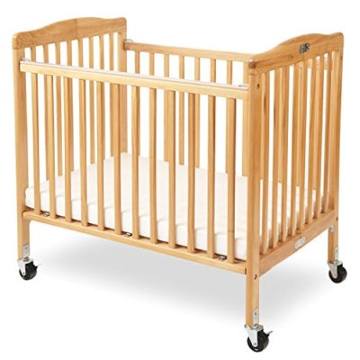 LA-Baby-The-Little-Wood-Crib-Natural-0