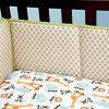 Little Bedding Crib Bumper, Critter Pals