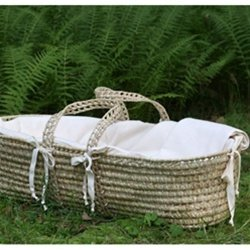 Little Merry Fellows Organic Moses Basket Mattress Replacement