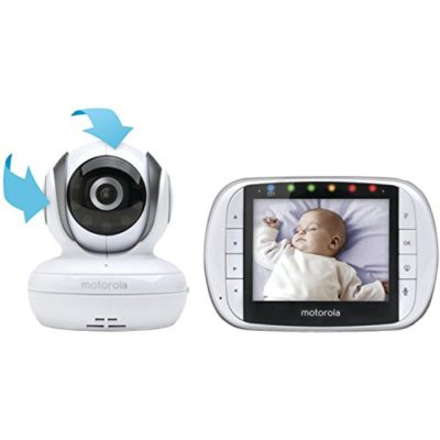 Motorola-MBP36S-Remote-Wireless-Video-Baby-Monitor-with-35-Inch-Color-LCD-Screen-Remote-Camera-Pan-Tilt-and-Zoom-0-32