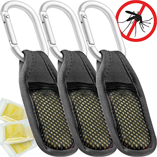 Mozguard Mosquito Repellent Clip 3 Pack All Natural