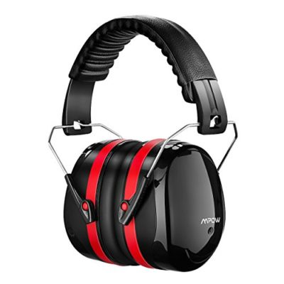 Mpow-Noise-Reduction-Safety-Ear-muffs-SNR-34dB-Shooting-Hunting-Ear-Muffs-Professional-Hearing-Protection-with-a-Carrying-Bag-Adjustable-Folding-Ear-Defenders-Fits-Adults-to-Kids-for-Shooting-Range-0