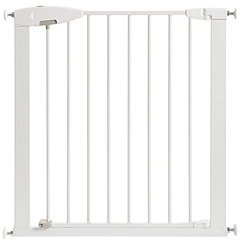 Munchkin Easy Close Metal Baby Gate White Baby Cribbed