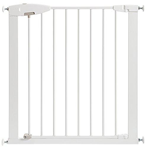 Munchkin Easy Close Metal Baby Gate, White