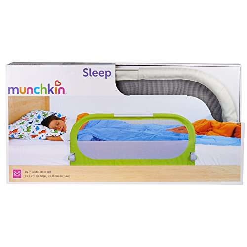 Munchkin Sleep Bed Rail Grey Baby Cribbed