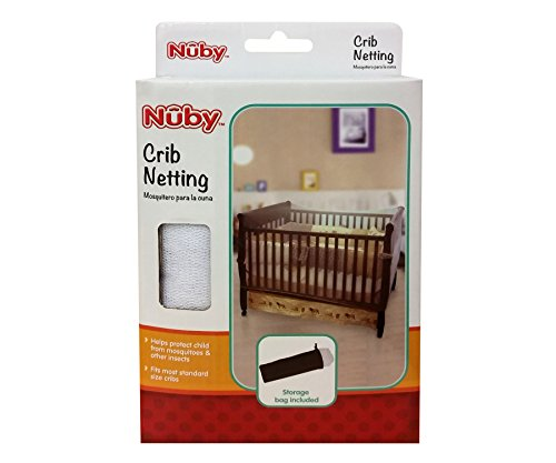 Nuby Baby Crib ...  sc 1 st  Baby Cribbed & Nuby Baby Crib Netting Universal Size White Baby Bed Mosquito ...