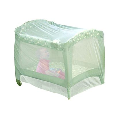 Nuby-Baby-Playpen-Netting-Universal-Size-White-Pack-N-Play-Mosquito-Net-Tent-Play-Yard-Kid-Insect-Mesh-Cover-0