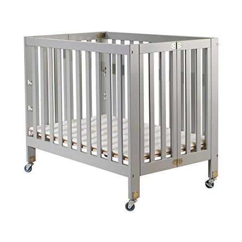 Orbelle Trading Roxy Three Portable Crib, Gray