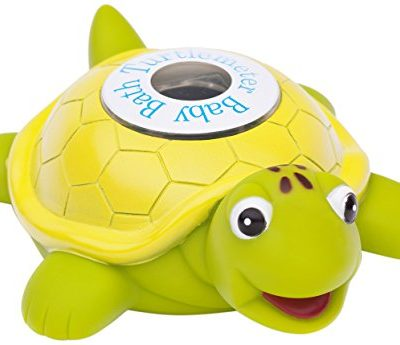 Ozeri-Turtlemeter-The-Baby-Bath-Floating-Turtle-Toy-and-Bath-Tub-Thermometer-0