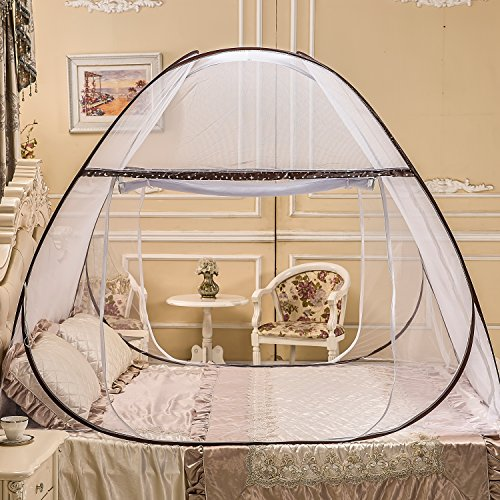 Portable Mosquito Net for Bed ... & Portable Mosquito Net for BedPop Up Mosquito Net TentAnti ...