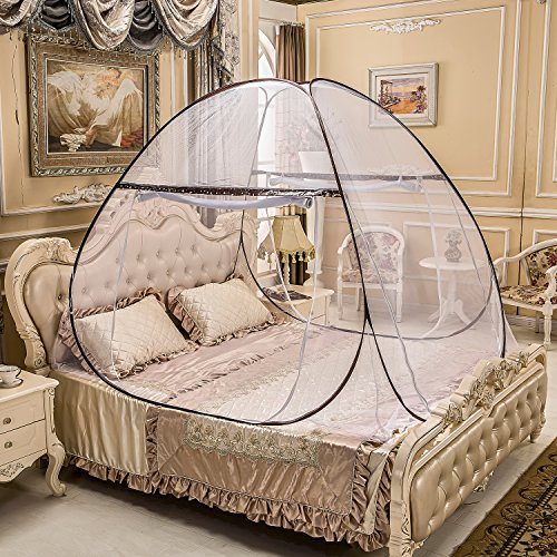 Portable Mosquito Net for Bed,Pop Up Mosquito Net Tent,Anti Mosquito Bites for Babies Toddlers Kids Adult Travel