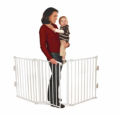 Regalo 76-Inch Super Wide Metal Configurable Gate