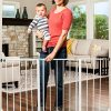 Regalo Easy Open 50 Inch Wide Baby Gate, Pressure Mount with 2 Included Extension Kits 1243