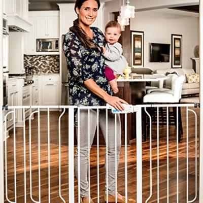 Regalo-Extra-WideSpan-Walk-Through-Safety-Gate-White-0