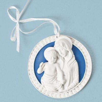 Roman-3-Della-Robbia-Cradle-Medal-with-Madonna-Child-0