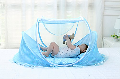 SINOTOP Baby Travel Bed Crib Mosquito Ded Portable Baby Bed