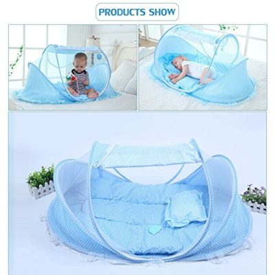 SINOTOP-Baby-Travel-Bed-Crib-Mosquito-Ded-Portable-Baby-Bed-Folding-Baby-Mosquito-Net-Portable-Baby-Cots-for-0-18-Month-Baby-Blue-0