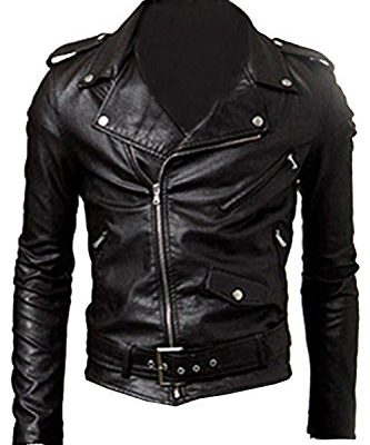 SODIALR-Mens-Cool-Fit-Punk-Zip-Motorcycle-Jacket-Black-XL-0