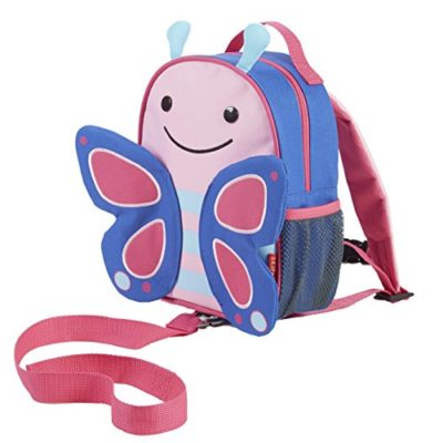 Skip-Hop-Zoo-Little-Kid-and-Toddler-Safety-Harness-Backpack-Blossom-Butterfly-0