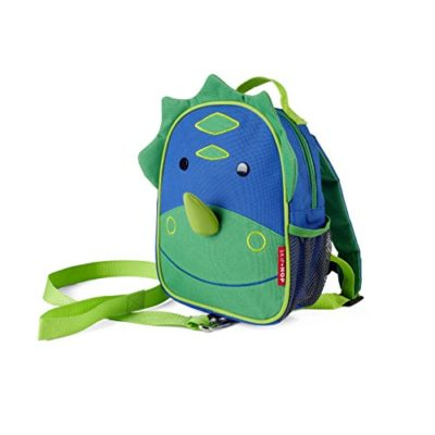 Skip-Hop-Zoo-Little-Kid-and-Toddler-Safety-Harness-Backpack-Dakota-Dinosaur-0