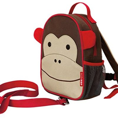 Skip-Hop-Zoo-Little-Kid-and-Toddler-Safety-Harness-Backpack-Marshall-Monkey-0