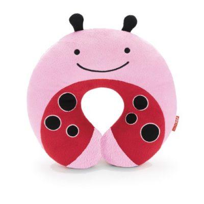 Skip-Hop-Zoo-Little-Kid-and-Toddler-Travel-Neck-Rest-Soft-Plush-Velour-Multi-Livie-Ladybug-0