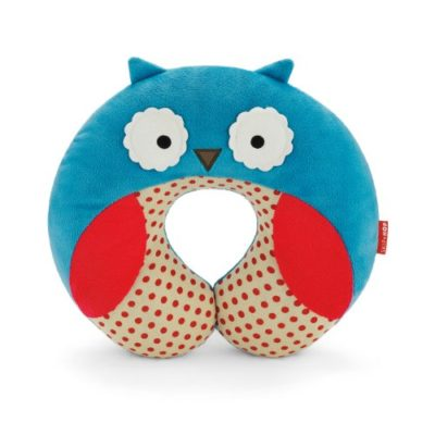 Skip-Hop-Zoo-Little-Kid-and-Toddler-Travel-Neck-Rest-Soft-Plush-Velour-Multi-Otis-Owl-0