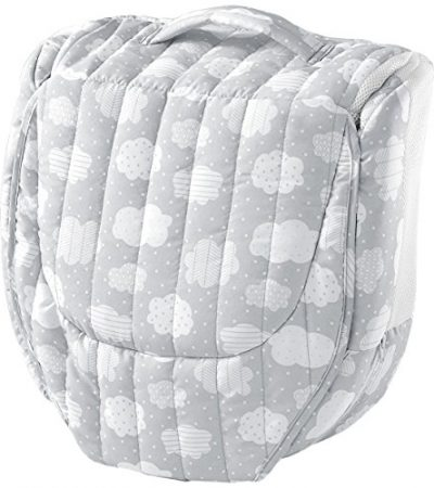 Snuggle Nest Surround XL - Silver Clouds