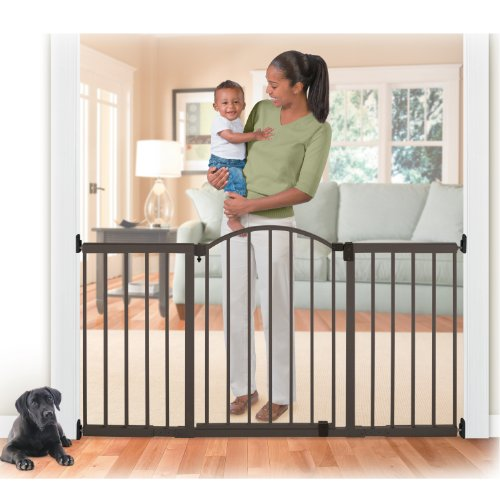 Summer Infant Metal Expansion Gate 6 Foot Wide Extra Tall Walk Thru