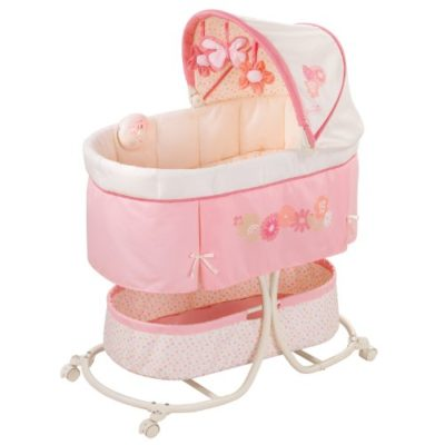 Summer-Infant-Soothe-Sleep-Bassinet-with-Motion-Lila-0