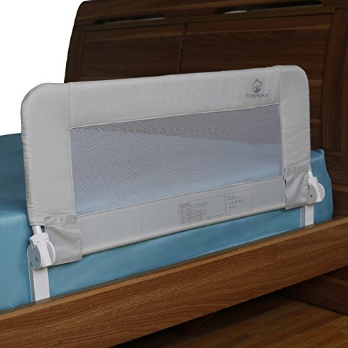 toddler bed rail guard for convertible crib kids twin double full size queen king bedrails. Black Bedroom Furniture Sets. Home Design Ideas