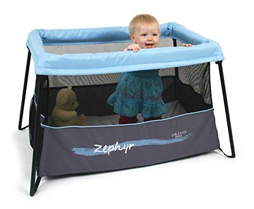 Valco Baby Zephyr Travel Crib, Mistral