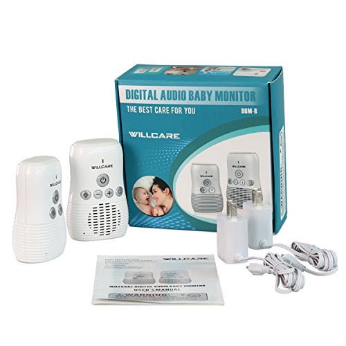 Willcare Audio Baby Monitor With Baby Night Light And 2