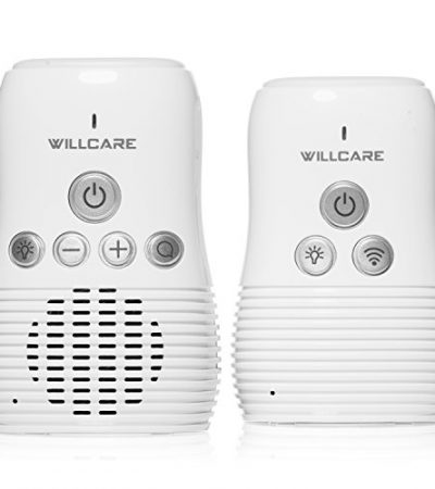 Willcare Audio Baby Monitor with Baby Night light and 2-Way Communication.