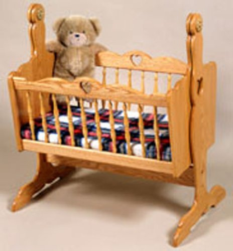 Woodworking Project Plan To Build A Swing Cradle For Babies